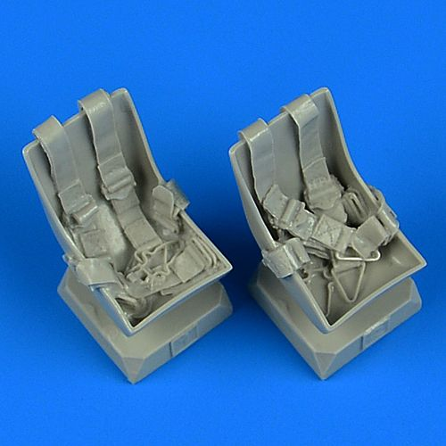 Quickboost 1/32 Bucker Bu-131B/Bu-131D Seats (2) with Seatbelts # 32219