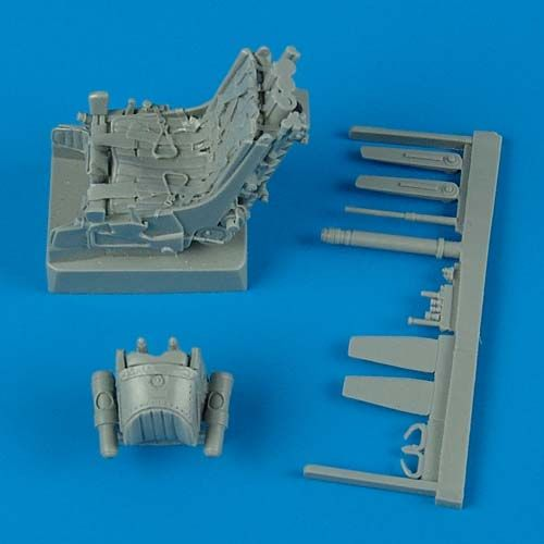 Quickboost 1/32 Mikoyan MiG-29A Ejection Seats with Safety Belts