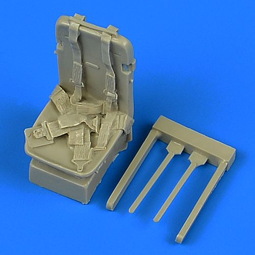 Quickboost 1/32 North-American P-51D Mustang Seat with Safety Belts # 32214