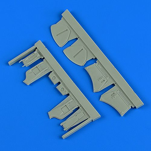 Quickboost 1/48 Hawker Hunter F.4/F.6 Undercarriage Covers # 48889