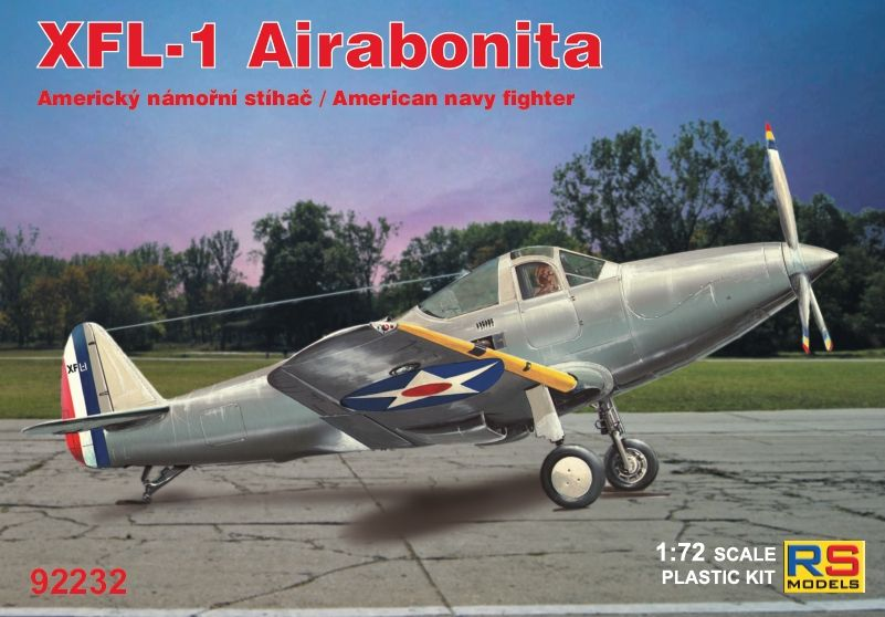 RS Models 1/72 Bell XFL-1 Airabonita American Navy Fighter # 92232
