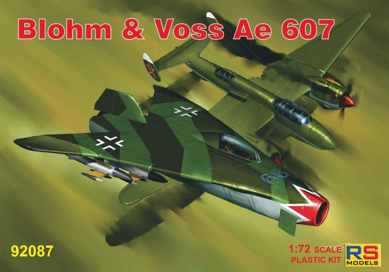 RS Models 1/72 Blohm & Voss Ae-606 German Project # 92087