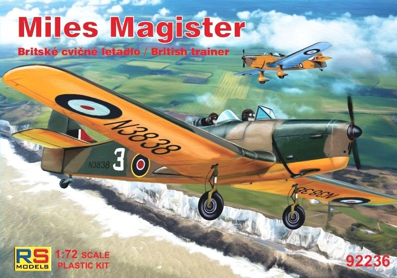RS Models 1/72 Miles Magister British Trainer # 92236