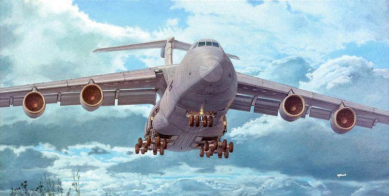 Roden 1/144 Lockheed C-5M Super Galaxy # 332