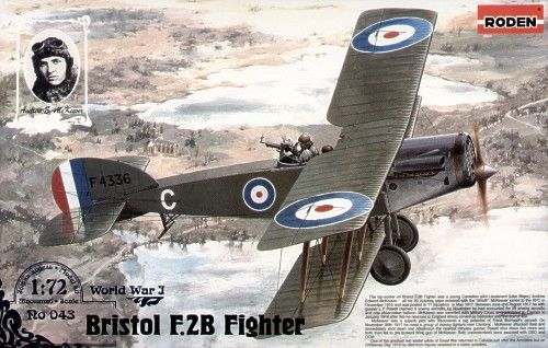 Roden 1/72 Bristol F.2B Fighter # 043