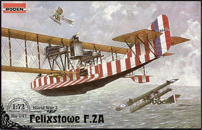 Roden 1/72 Felixstowe F.2A (Late) Flying Boat # 047