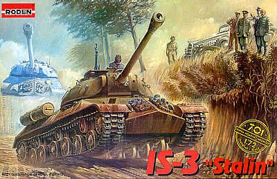 Roden 1/72 IS-3 Stalin # 701