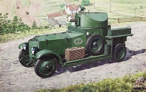 Roden 1/72 Rolls Royce Armoured Car (1920 Mk.II Pattern) # 731