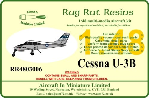 Rug Rat Resins 1/48 Cessna U-3B # RR4803006
