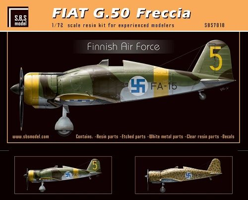 SBS Model 1/72 Fiat G.50 Freccia 'Finnish Air Force' # K7018