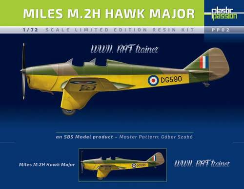 SBS Model 1/72 Miles M.2H Hawk Major 'RAF' Service # KP02