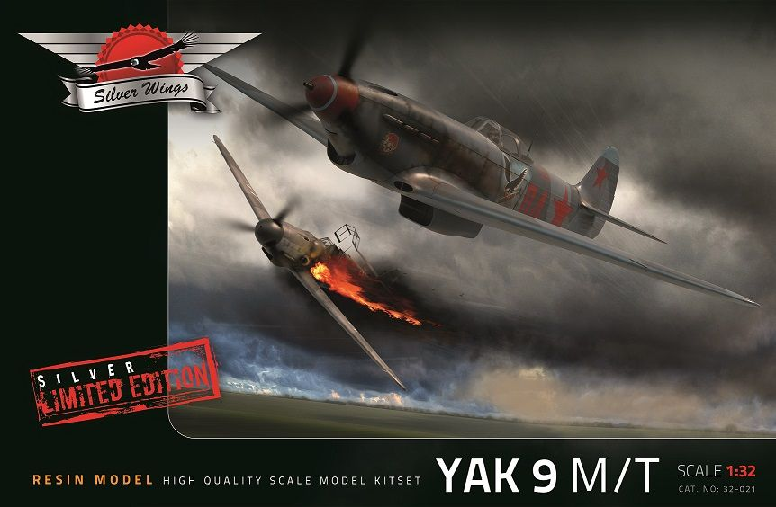 Silver Wings 1/32 Yakovlev Yak-9 M/T Silver Limited Edition # 32021