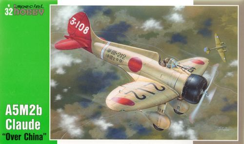 "Special Hobby 1/32 Mitsubishi A5M2b Claude ""Over China"" # 32034"