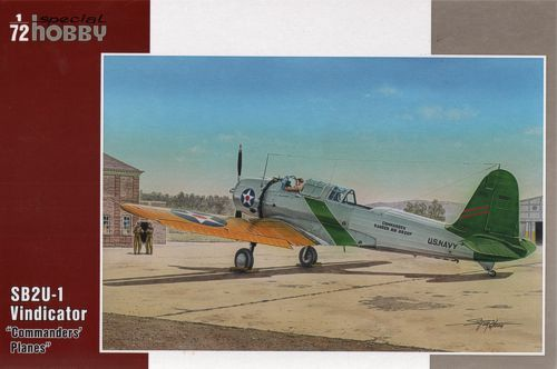"Special Hobby 1/72 Vought SB2U-1 Vindicator ""Commanders Planes"" # 72272"