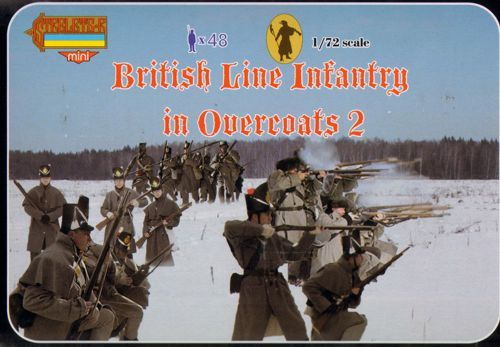 Strelets 1/72 British Line Infantry in Overcoats 2 # M097
