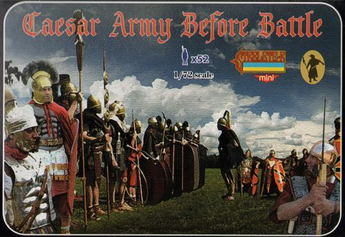 Strelets 1/72 Caesar Army Before Battle # M088