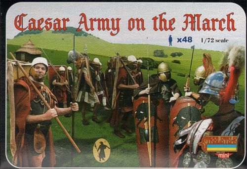 Strelets 1/72 Caesar Army on the March # M087