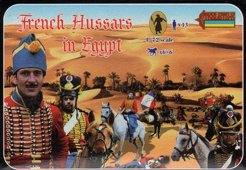 Strelets 1/72 French Hussars in Egypt # 118