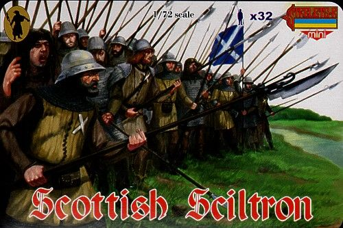 Strelets 1/72 Scottish Schiltron Border Wars # M036