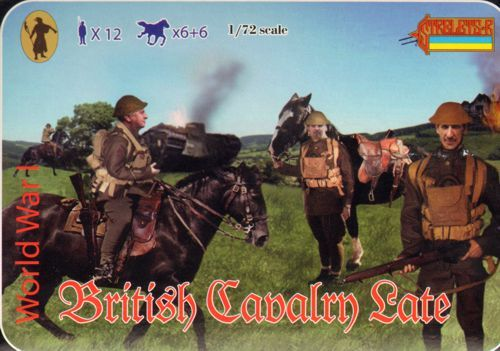 Strelets 1/72 WWI British Cavalry Late # 114