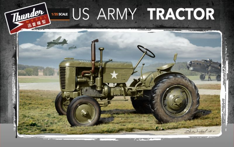 Thunder Models 1/35 US Army Tractor Case VAI # 35001