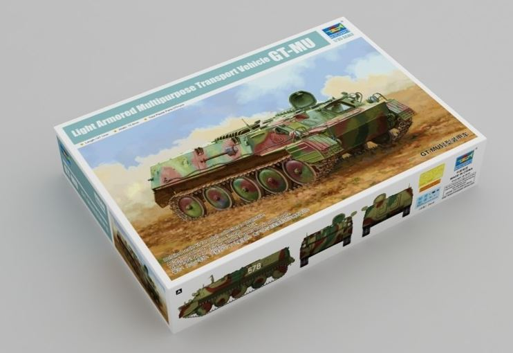 Trumpeter 1/35 GT-MU Light Armored Multipurpose Transport Vehicle # 09568