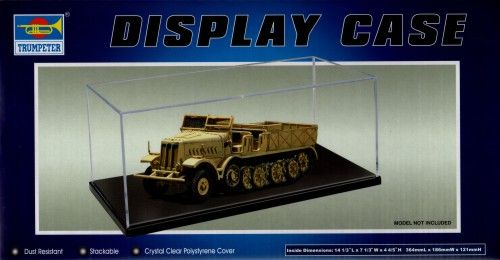 Trumpeter Display Case 364 x 186 x 121mm # 09815