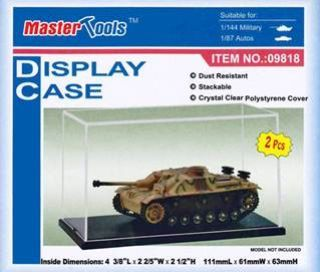 Trumpeter - Display Cases 111mm x 61mm x 63mm # 09818