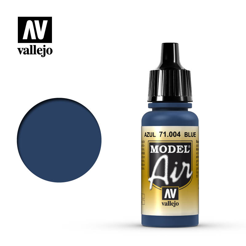 Vallejo 17ml Model Air - Blue acrylic paint # 004