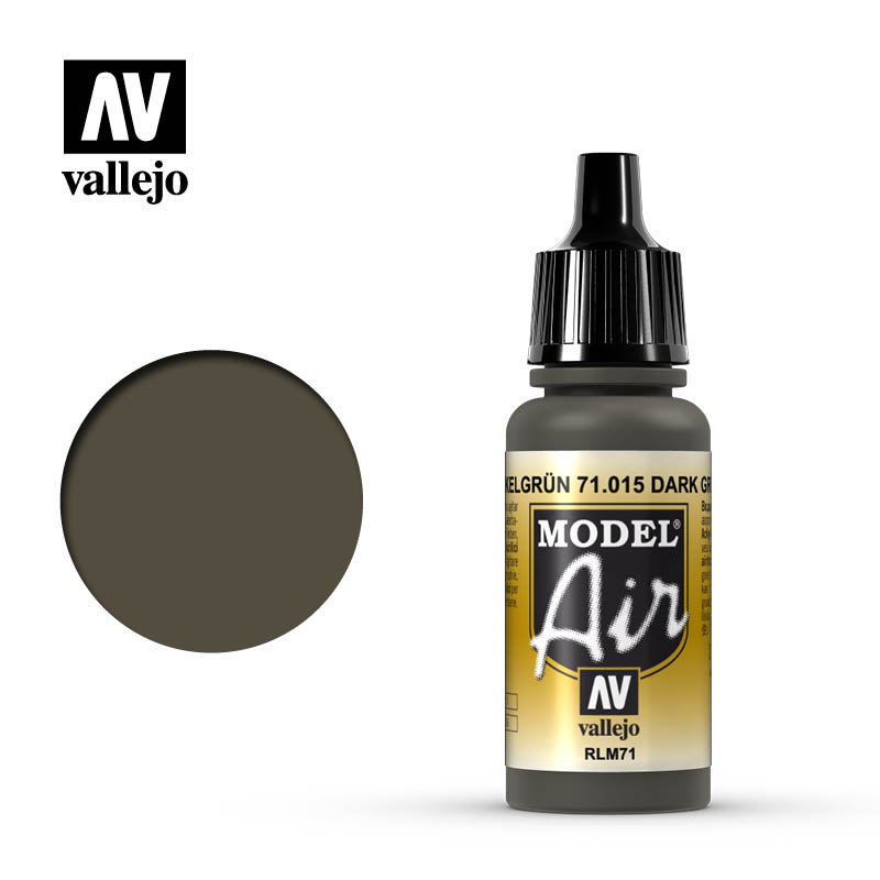 Vallejo 17ml Model Air - Olive Grey acrylic paint # 015