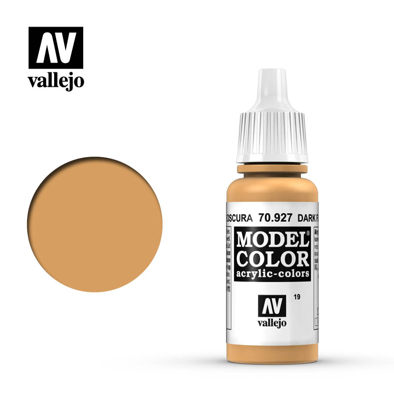 Vallejo 17ml Model Color - Dark Flesh acrylic paint # 927