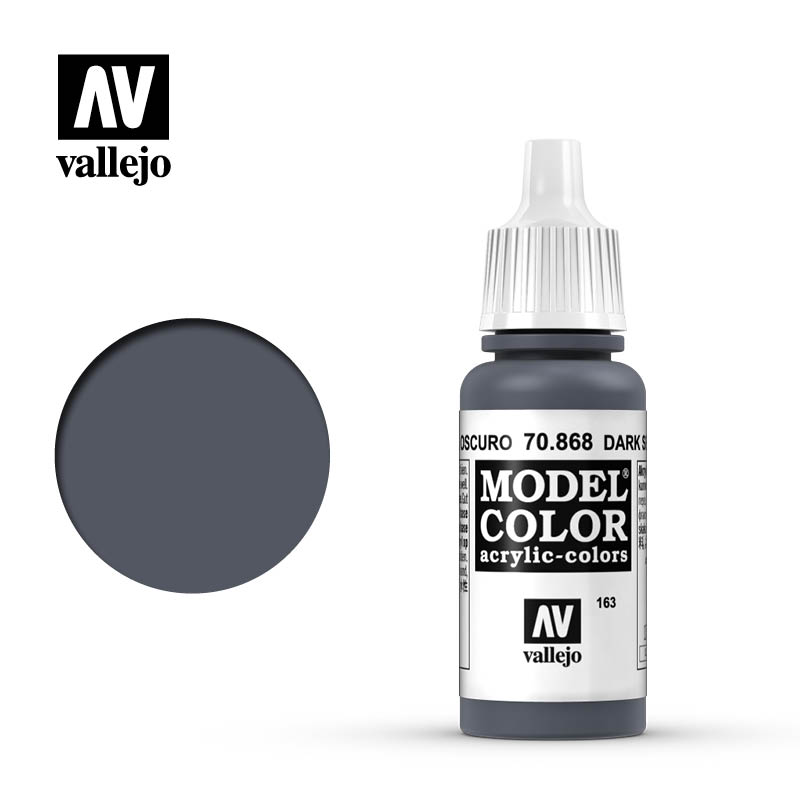 Vallejo 17ml Model Color - Dark Seagreen acrylic paint # 868