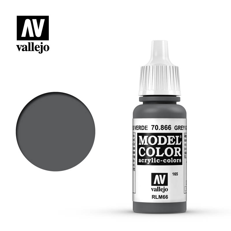 Vallejo 17ml Model Color - Grey Green acrylic paint # 866