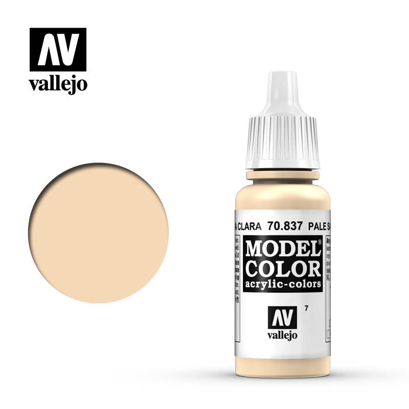 Vallejo 17ml Model Color - Pale Sand acrylic paint # 837
