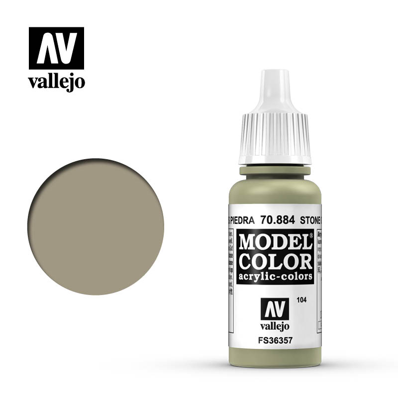 Vallejo 17ml Model Color - Stone Grey acrylic paint # 884