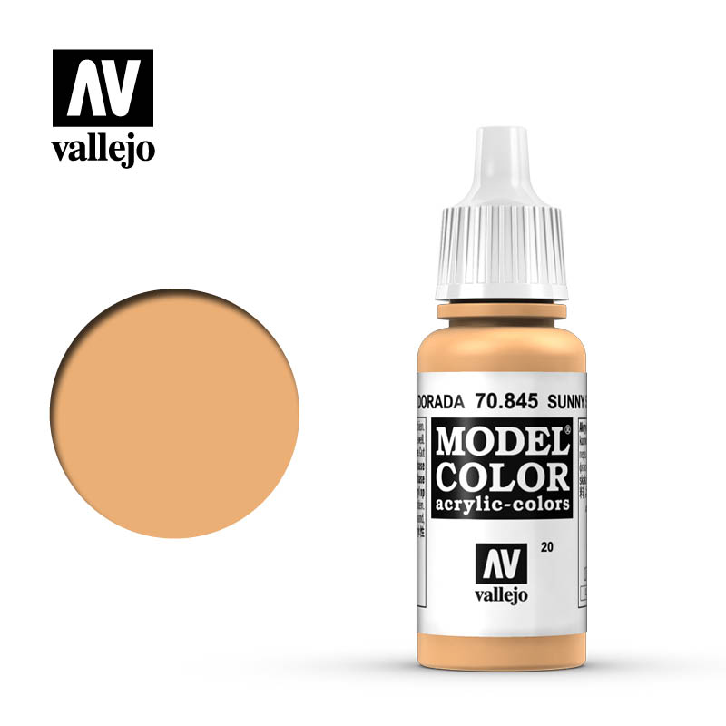Vallejo 17ml Model Color - Sunny Skin Tone acrylic paint # 845