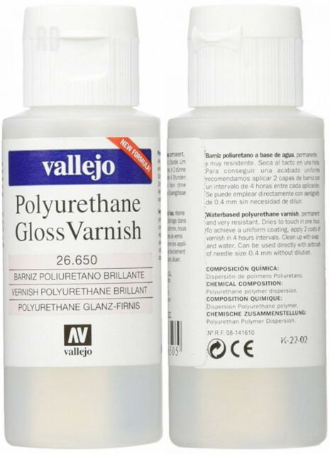 Vallejo 60ml Polyurethane Varnish Gloss # 26650