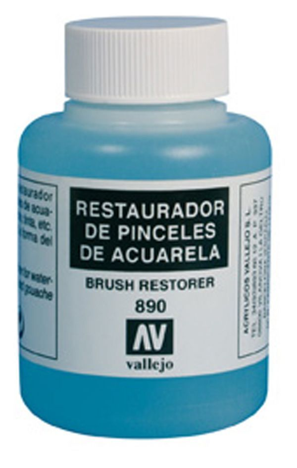 Vallejo 85ml Brush Restorer # 890
