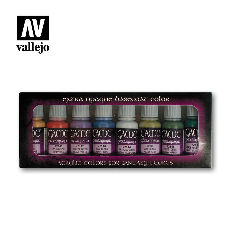 Vallejo Game Color - Extra Opaque Paint Set # 72294