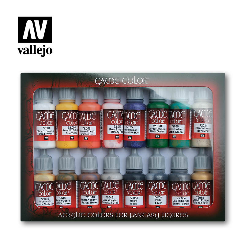 Vallejo Game Color - Introduction Set # 72299