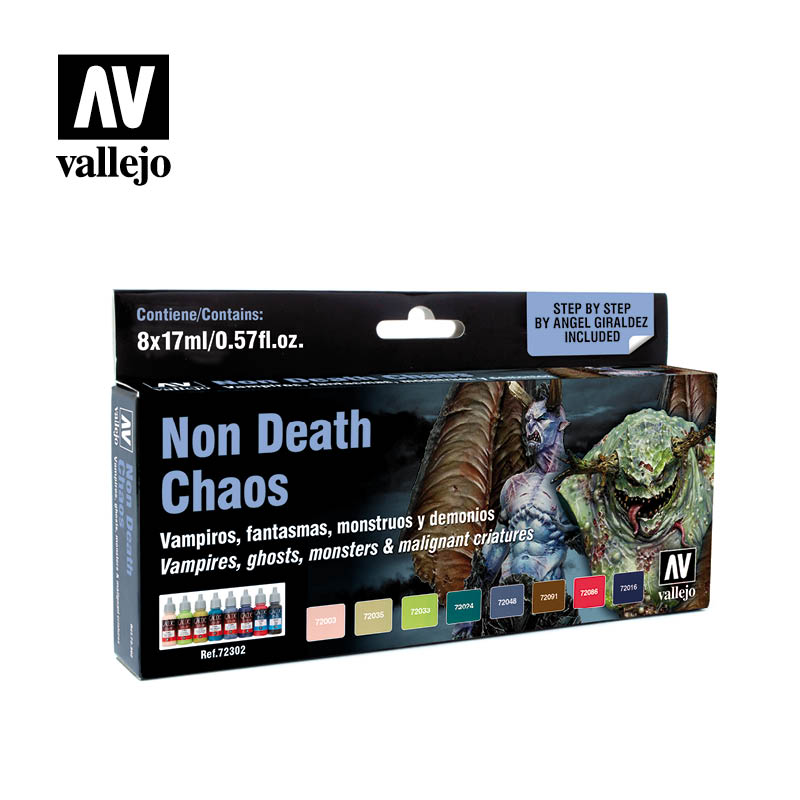 "Vallejo Game Color - Non Death Choas ""by Angel Giraldez"" Paint S"