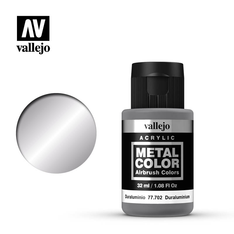 Vallejo Metal Color 32ml Duraluminium # 77702