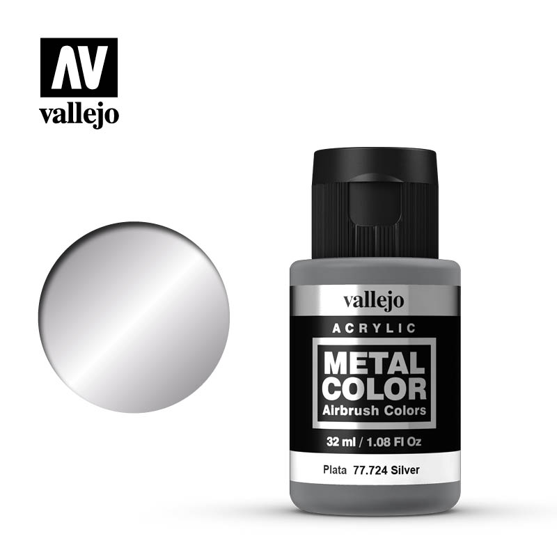 Vallejo Metal Color 32ml Silver # 77724