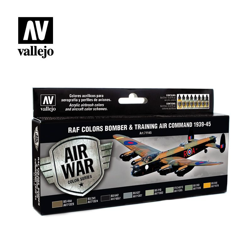 Vallejo Model Air - RAF Colors Bomber & Training Air Command 193