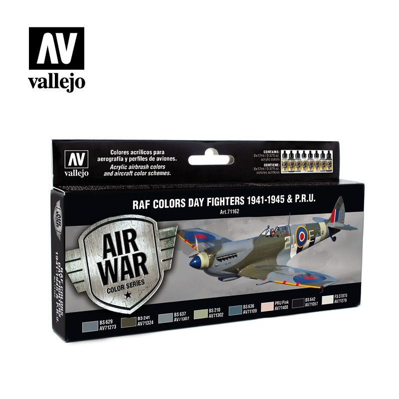 Vallejo Model Air - RAF Colors Day Fighters 1941-1945 & P.R.U. P