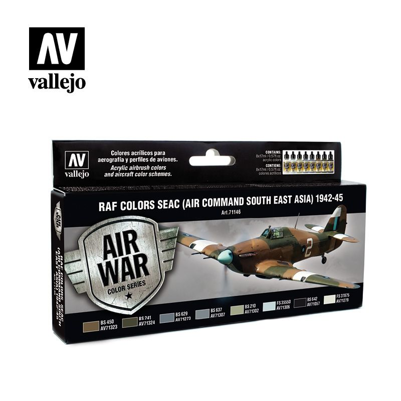 Vallejo Model Air - RAF Colors SEAC (Air Command South East Asia