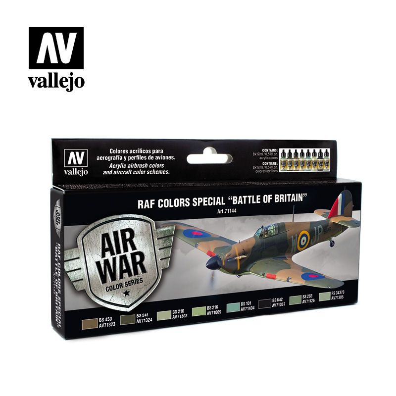 "Vallejo Model Air - RAF Colors Special ""Battle of Britain"" Paint"