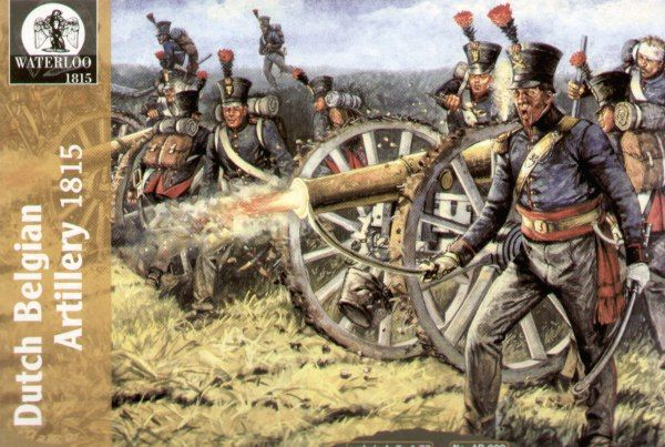Waterloo 1/72 Napoleonic Dutch Belgian Artillery # AP009