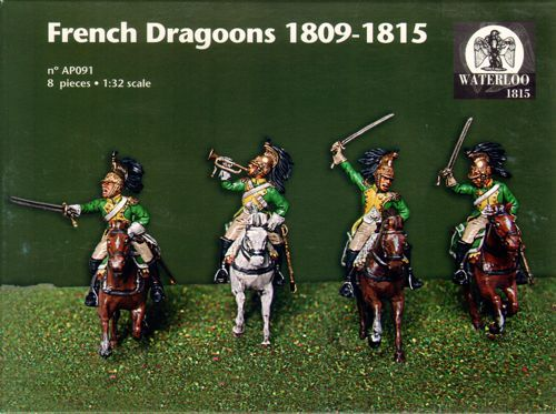 Waterloo 1815 1/32 French Dragoons 1809-1815 # AP091