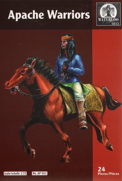 Waterloo 1815 1/72 Apache Warriors # AP051